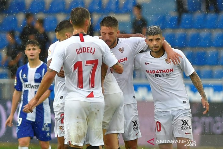 Hasil Liga Spanyol, Sevilla raih puncak klasemen