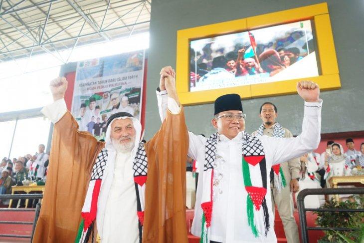 Solidaritas  rakyat RI-Palestina tak pernah padam