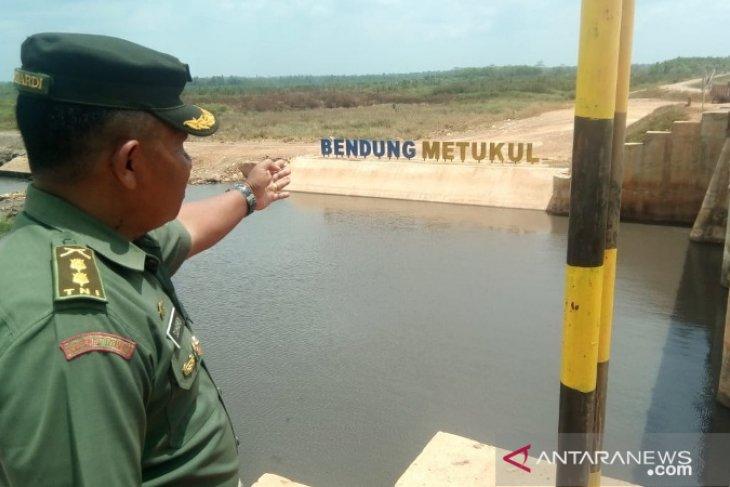 114 hektare sawah di Desa Temayang alami kekeringan
