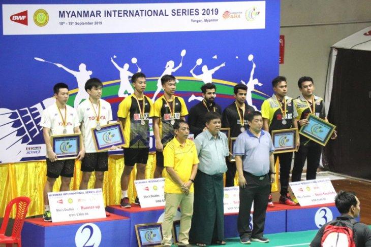 Di Myanmar International Series 2019, Indonesia raih dua gelar juara