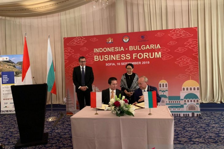 Indonesian, Bulgarian chambers ink MoU to intensify trade