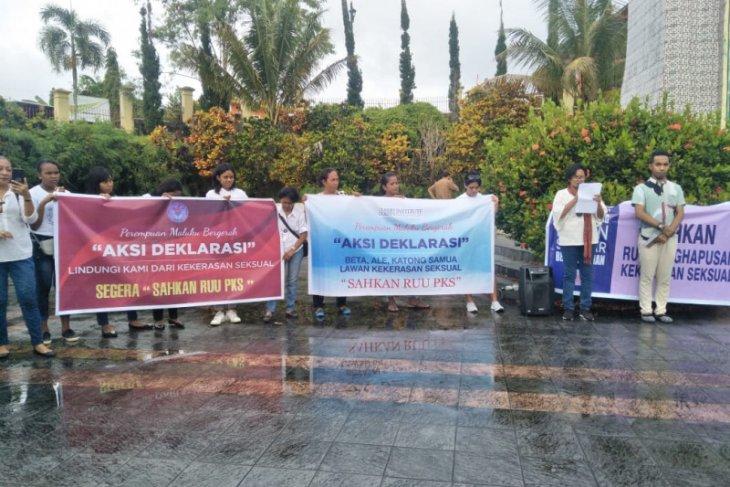 Kelompok perempuan Maluku deklarasi dukung RUU PKS