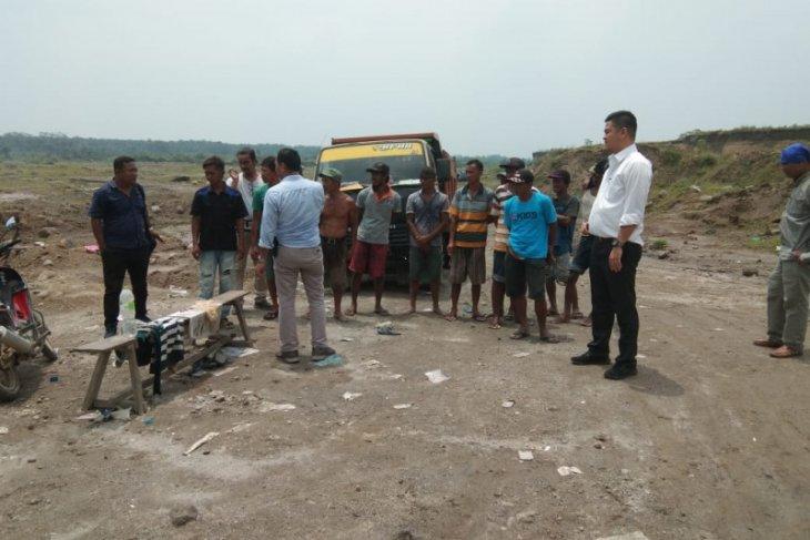 Polisi amankan tujuh pelaku penambangan ilegal galian C di Binjai