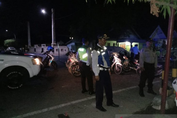 Pemakaman Fuad Amin, Polres Bangkalan bantu pengamanan