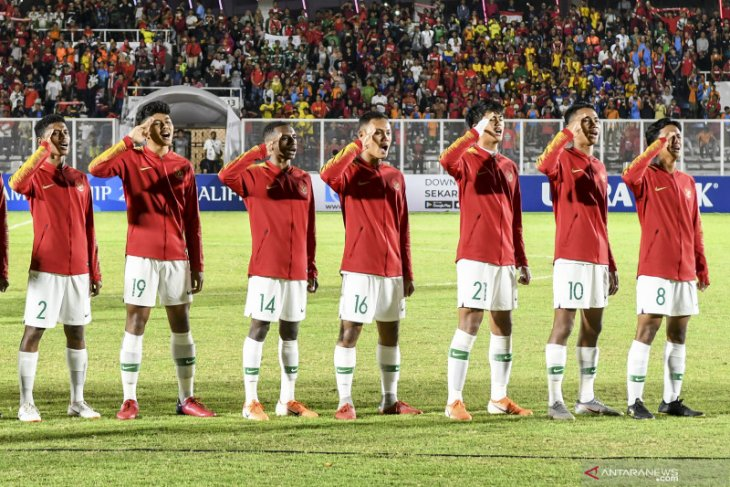 Indonesia dipastikan lolos ke Piala Asia 2020