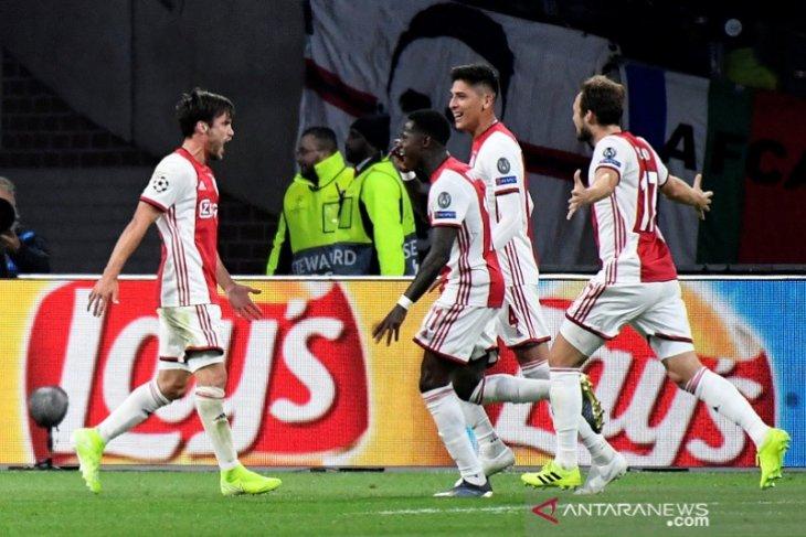 Ajax gasak Lille tiga gol tanpa balas di Liga Champions