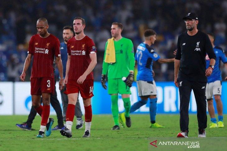 Hasil Liga Champions, juara bertahan awali dengan kekalahan