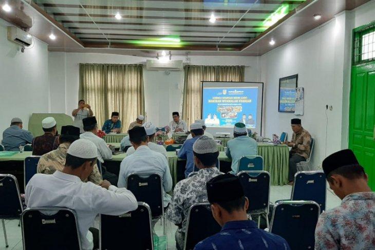 Dirut ajak BKM simpan dana Masjid di Mahirah  Muamalah