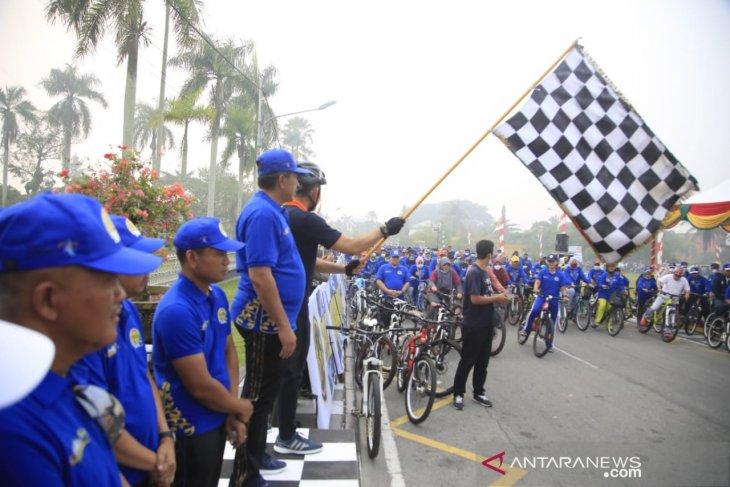 Fun bike signalizes start of Tour de Siak in Riau