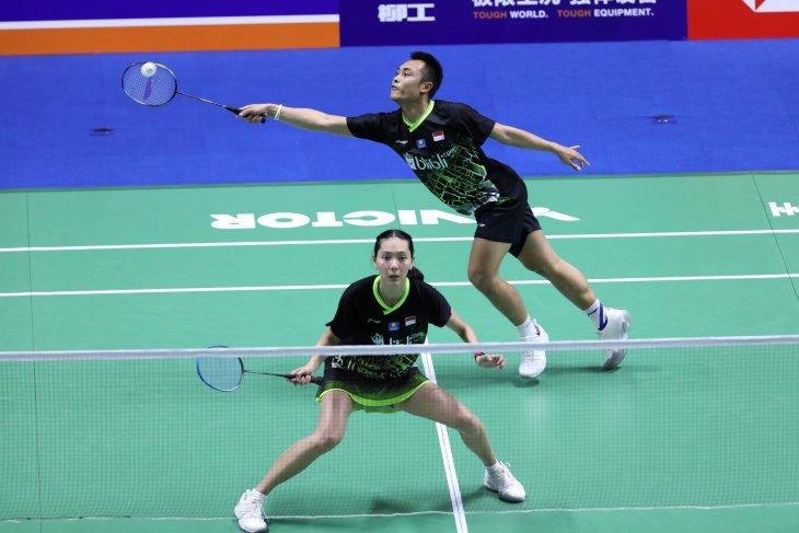 Ringkasan pertandingan para wakil Indonesia ke babak dua China Open