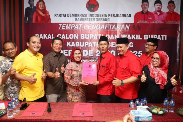 Ratu Tatu Chasanah resmi daftarkan jadi balon Bupati Serang