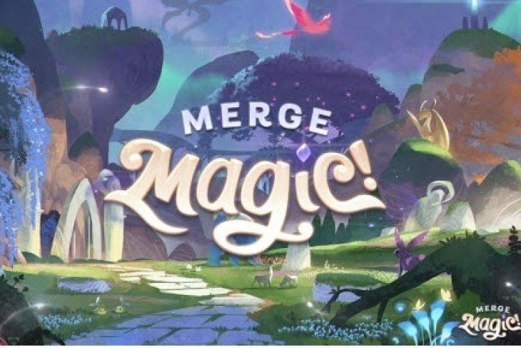 Zynga launches spellbinding new puzzle adventure game Merge Magic!