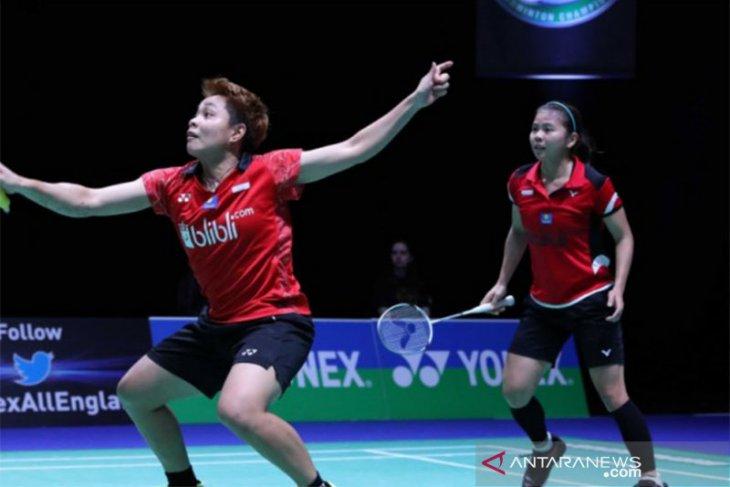 Greysia/Apriyani jadi wakil kedua Indonesia lolos final Thailand Open