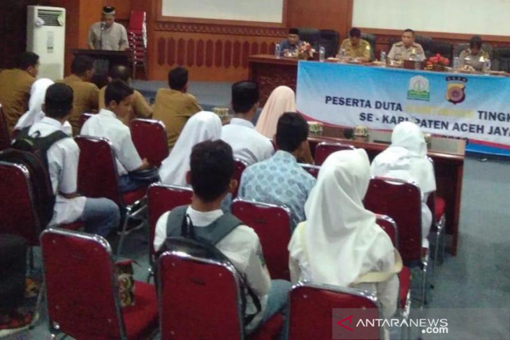 Polres Aceh Jaya gelar seleksi Duta Kamtibmas
