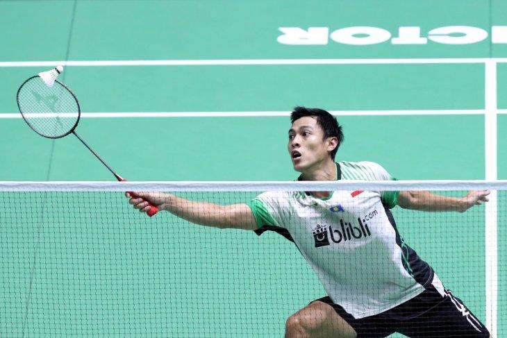 Tunggal putra Indonesia sisakan Ginting di China Open