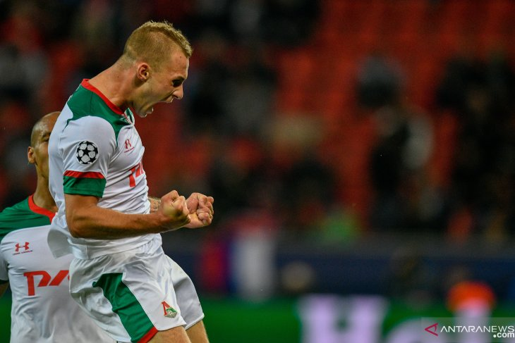 Lokomotiv Moscow bawa tiga poin dari markas Leverkusen