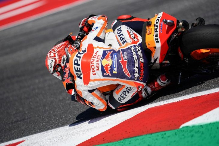 Marquez melesat di FP1 GP  Aragon