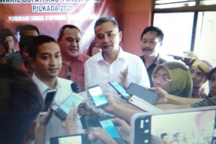 Nabil Jayabaya resmi daftar sebagai balon Bupati Pandeglang