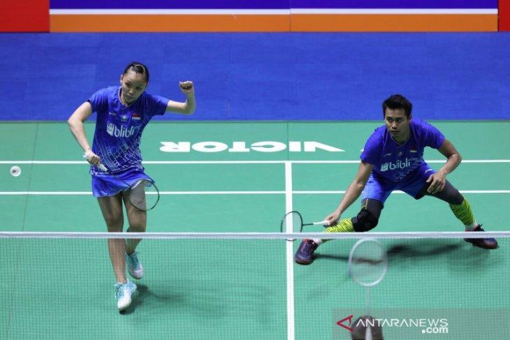 Enam wakil Indonesia melaju  ke perempat final China Open 2019