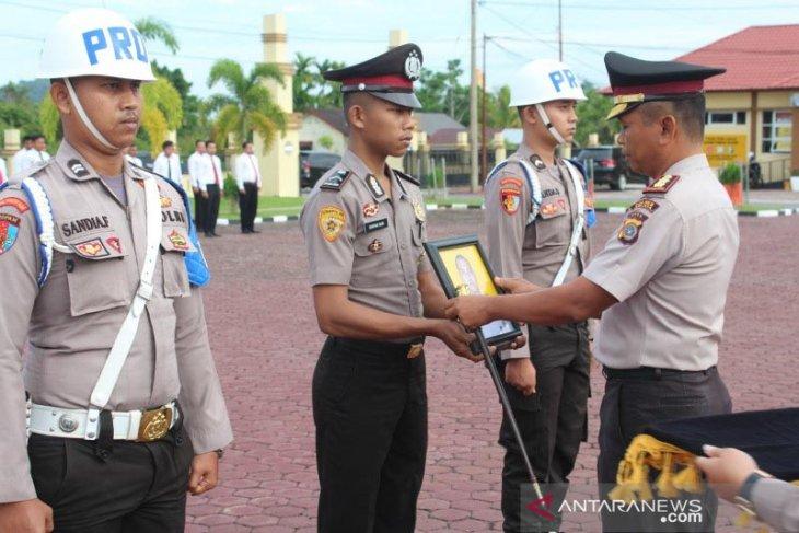 Desersi, satu anggota Polres Aceh Jaya dipecat
