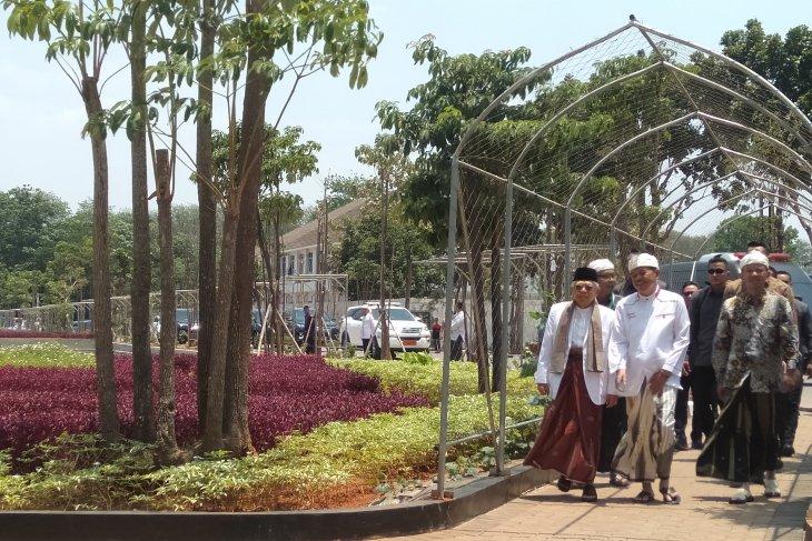 KH Ma'ruf Amin menghadiri Rapat Pleno PBNU di Purwakarta