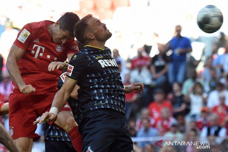 Kalahkan Koln 4-1, Bayern Munich pimpin klasemen Liga Jerman