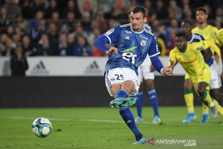 Strasbourg akhirnya petik kemenangan perdana Liga Prancis