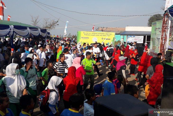 PT Timah dukung aksi pemuda bersih sampah di Kabupaten Bangka Barat