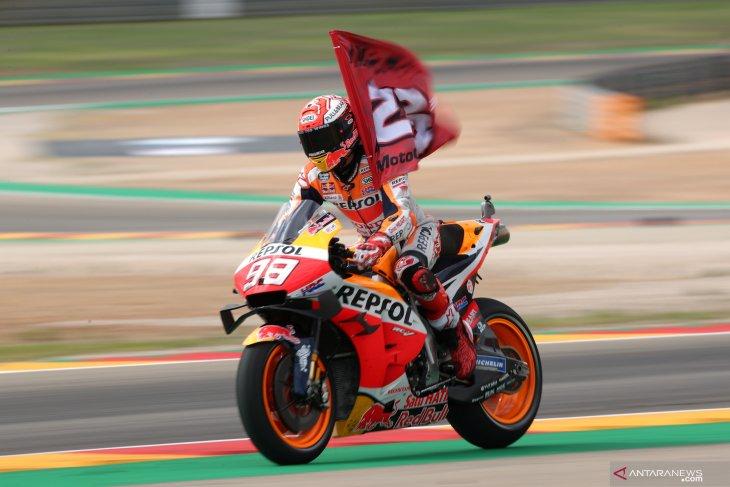 Marquez siap turun di GP Thailand walau mengalami kecelakaan parah di FP1