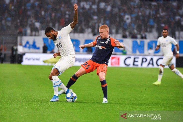 Liga Prancis, tiga kartu merah warnai terhentinya kemenangan beruntun Marseille