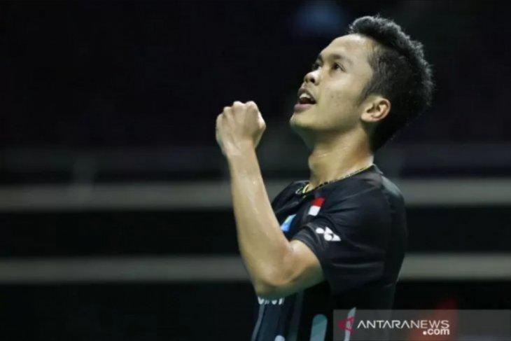 Ginting pastikan regu putra bulu tangkis Indonesia maju final