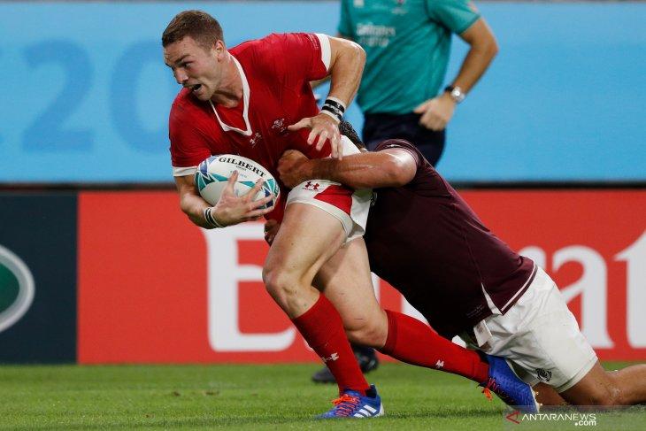 Wales tundukkan Georgia 43-14 Piala Dunia Rugby