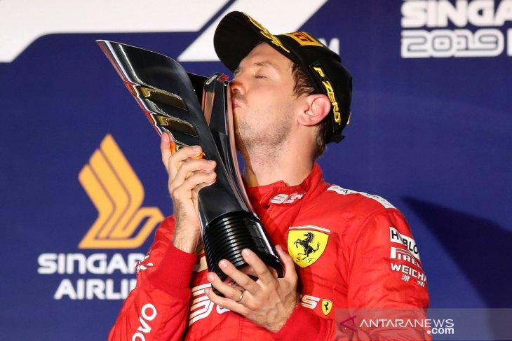 Vettel buktikan dirinya masih bertaji