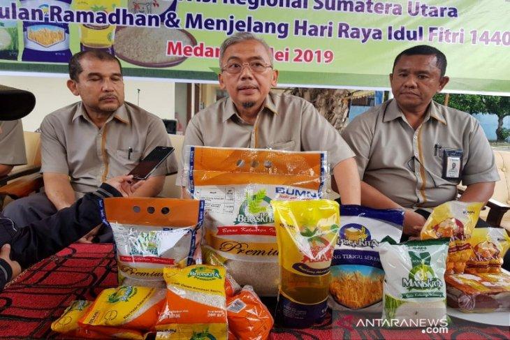 Pembelian  beras petani Bulog Sumut sudah 11.868 ton