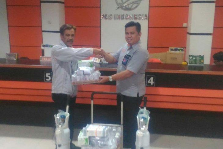 Kantor Pos Pontianak terima bantuan alat kesehatan dari PKBL