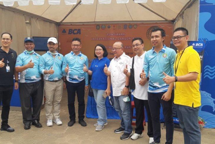 BCA dukung gelaran Pontianak International Dragon Boat dan Khatulistiwa Run