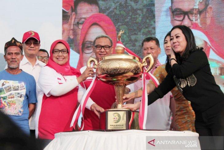 Bupati Ade Yasin pamerkan potensi wisata Bogor ke Kemenpar