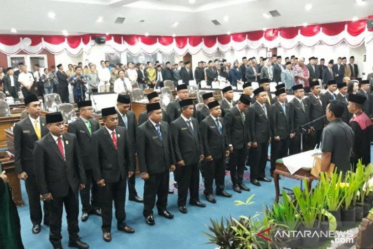 Ansori - Budi Prasetyo jabat pimpinan sementara DPRD Kabupaten Belitung