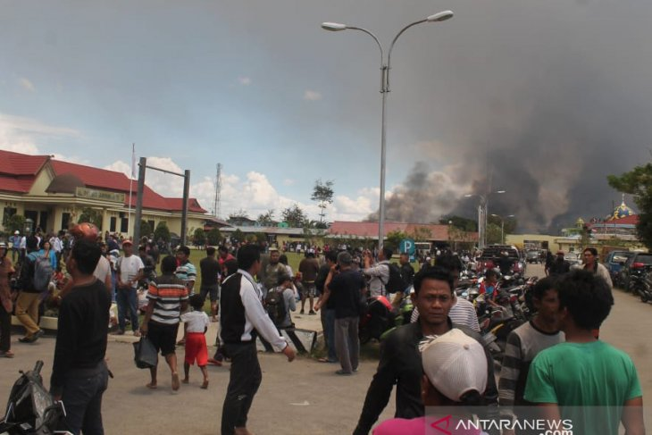 Police puts Wamena riot death toll at 23