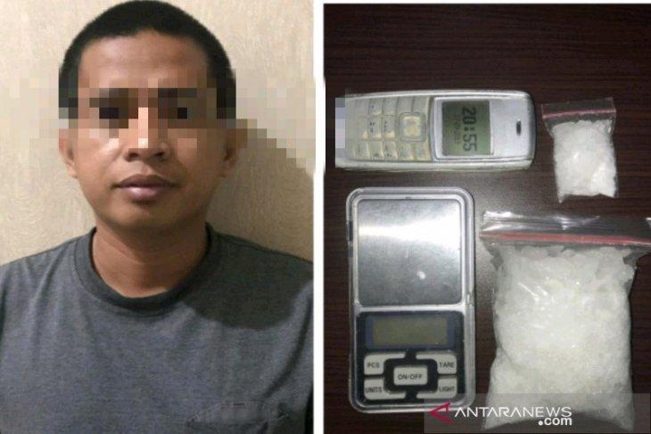 Polisi gagalkan peredaran 106,03 gram sabu-sabu, satu pengedar diamankan