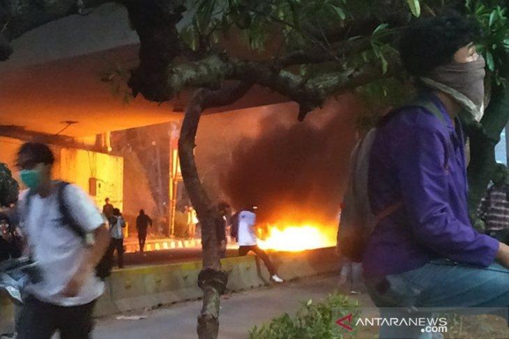 Polisi tangkap enam orang, diduga terkait kericuhan Jakarta