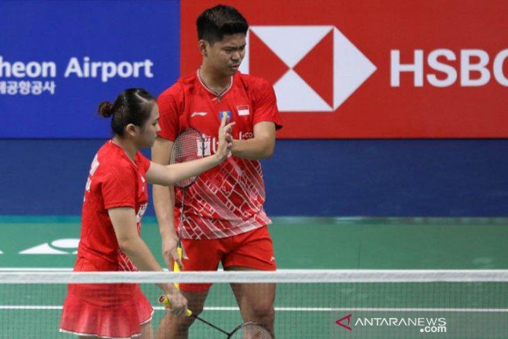 Dua wakil Indonesia ke babak dua Korea Open
