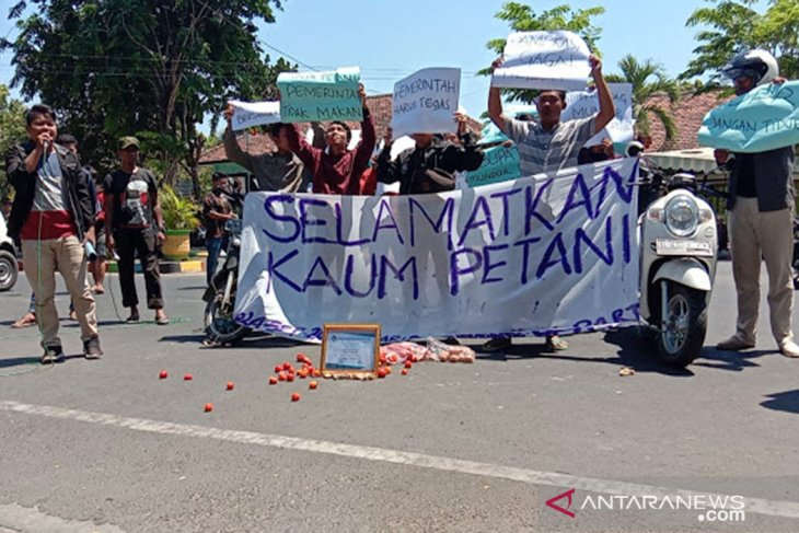 Mahasiswa Pamekasan dan Sumenep aksi damai suarakan kepentingan petani