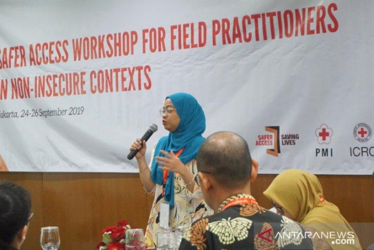 ICRC dan PMI gelar safer acces workshop untuk praktisi lapangan
