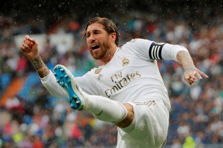 Liga Spanyol: Ramos tegaskan jika Real Madrid juara bukan karena bantuan wasit