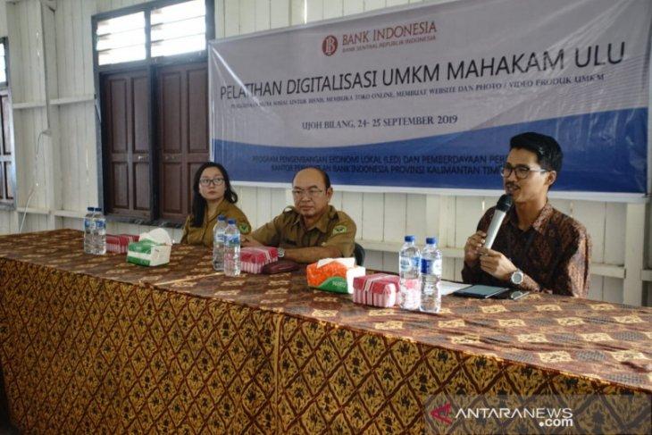 BI gelar pelatihan digitalisasi UMKM di Mahulu