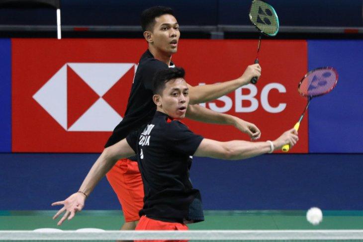 Pasangan Fajar/Rian jumpa Minions di perempat final Korea Open