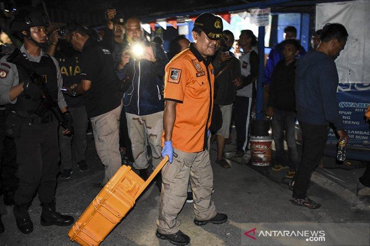 Penggeledahan Rumah Terduga Teroris Di Cimahi
