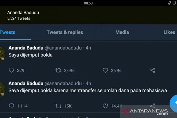 Ananda Badudu lakukan aksi keren melalui