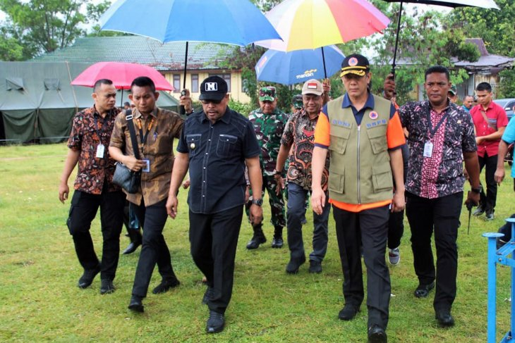 Kepala BNPB pastikan tambah pendeteksi tsunami di perairan Maluku